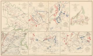 Peninsular Campaign, Cedar Mountain, and Northern Virginia Campaign. Atlas to Accompany the...