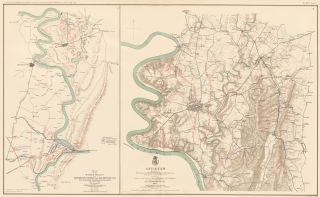 Maryland Campaign. Atlas to Accompany the Official Records of the Union and Confederate Armies....