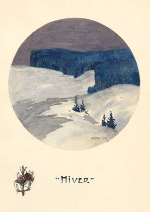 Hiver [Winter]. Maurice Esnault