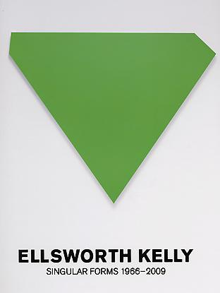 ELLSWORTH KELLY: Singular Forms 1966-2009. Pepe Karmel.