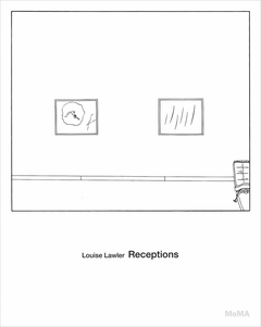LOUISE LAWLER: Receptions. Roxana Marcoci.