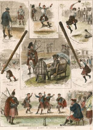 Scottish Games at Lillie Bridge. The Graphic Illustrated Newspaper