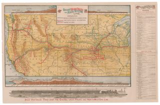 Chicago Union Pacific and North Western Line. Union Pacific Railroad