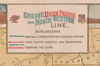 Chicago Union Pacific and North Western Line