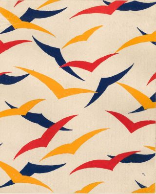 Primary Color Gulls. Arthur Litt.