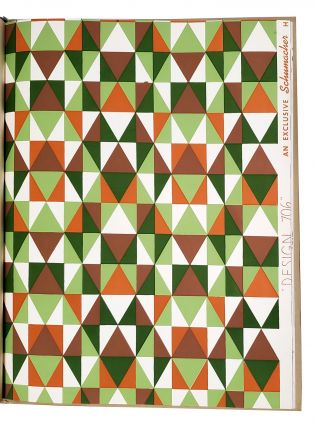 Schumacher's Taliesin line of decorative Fabrics and Wallpapers. Frank Lloyd WRIGHT