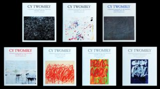CY TWOMBLY: Catalogue Raisonné of the Paintings. Volumes I -VII. Heiner Bastian