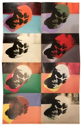 ANDY WARHOL. Vanitas: Skulls and Self-Portraits 1976-1986. London. Anthony d'Offay Gallery