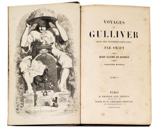 Voyages de Gulliver. GRANDVILLE, Swift
