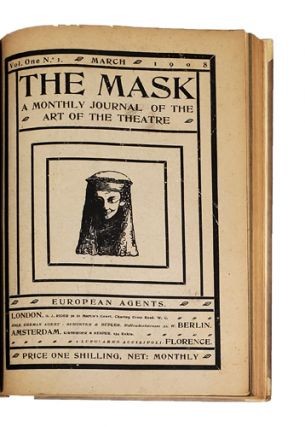The Mask. A Monthly Journal of the Art of the Theatre. Volumes 1-15 (all published). Edward...