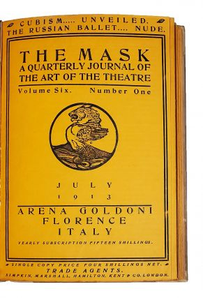 The Mask. A Monthly Journal of the Art of the Theatre. Volumes 1-15 (all published).