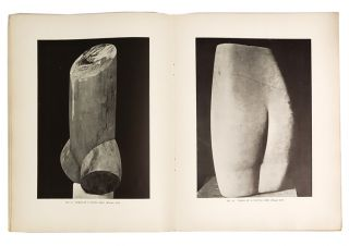 BRANCUSI. An Exhibition of Sculpture by Brancusi, January 4 to 18, 1927. BRUMMER GALLERY, BRANCUSI