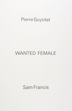 Wanted Female.