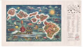 The Dole Map of the Hawaiian Islands. Joseph DeFeher