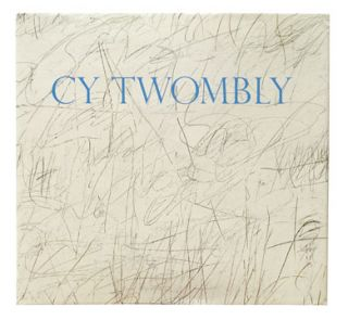 CY TWOMBLY. Katharina Schmidt, Houston. Menil Collection, Menil, Art Center Des Moines