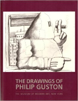 The Drawings of PHILIP GUSTON. Magdalena Dabrowski, New York. MOMA.