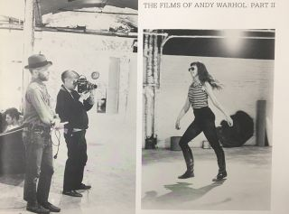 The Films of ANDY WARHOL: Part II. Callie Angell, New York. Whitney Museum of American Art