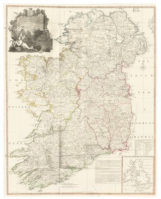 12 & 13. Ireland. A New Universal Atlas. Thomas Kitchin