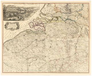 14 & 15. Netherlands, from A New Universal Atlas. Thomas Kitchin
