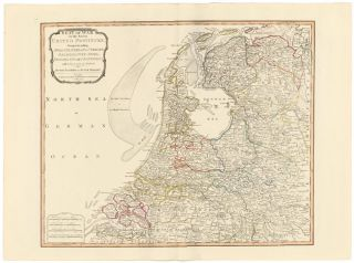 17. Seat of War in the Seven United Provinces. A New Universal Atlas. Thomas Kitchin