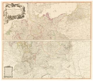 29 & 30. Empire of Germany. A New Universal Atlas. Thomas Kitchin.