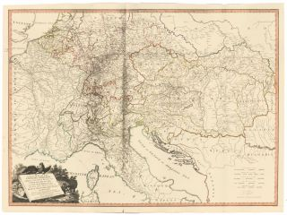 31. Emperor's Dominions. Exhibiting Post Roads. A New Universal Atlas. Thomas Kitchin.
