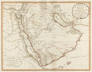 45. Arabia. A New Universal Atlas. Thomas Kitchin