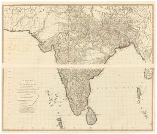 47 & 48. Hindoostan [India]. A New Universal Atlas. Thomas Kitchin