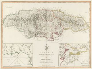 65. Jamaica. A New Universal Atlas. Thomas Kitchin