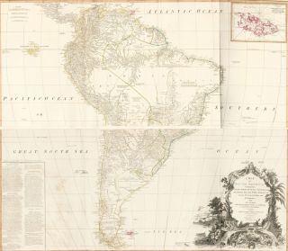 69 & 70. South America. A New Universal Atlas. Thomas Kitchin