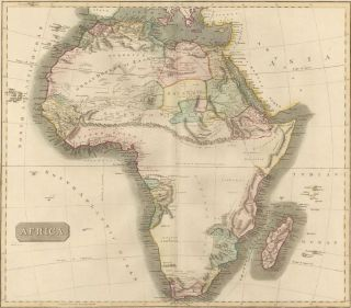 Africa, from the New General Atlas. John Thomson