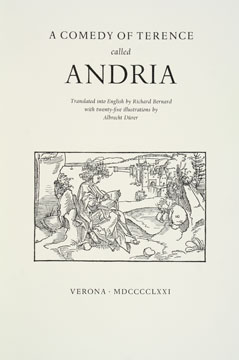 Andria: A Comedy by Terence. Terence