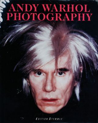 ANDY WARHOL: Photography. Pittsburgh. Andy Warhol Museum.