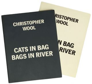 CHRISTOPHER WOOL Cats in Bag Bags in River. Museum Boymans-Van Beuningen Rotterdam