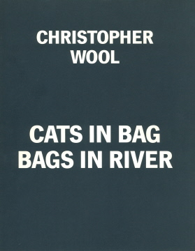 CHRISTOPHER WOOL Cats in Bag Bags in River