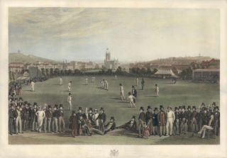 The Cricket Match, between Sussex and Kent, at Brighton. George Henry Phillips.